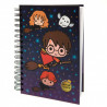 Cuaderno A5 Harry Potter Chibi con Luz