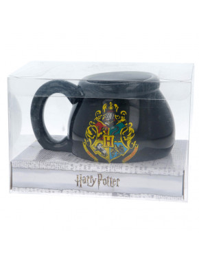 Taza 3D Harry Potter Hogwarts Crest 480 ml