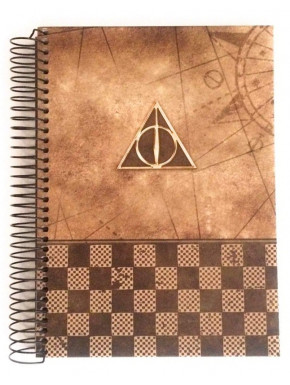 Cuaderno Reliquias de la Muerte Harry Potter