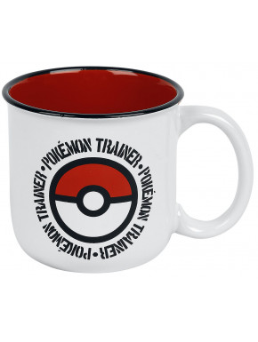 Taza Pokemon Trainer Vintage