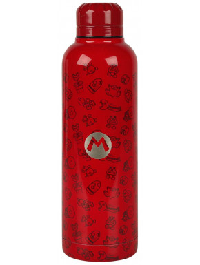 Botella Acero Super Mario 515 ml