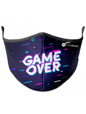 Mascarilla Reutilizable Mujer e Infantil Game Over