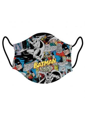 Mascarilla infantil Batman Comic DC Comics