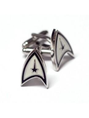 Gemelos Star Trek insignia acero