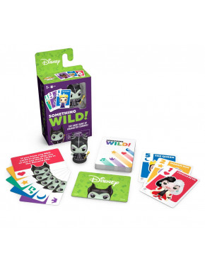 Juego de Cartas Something Wild! Disney Villanas