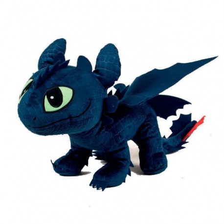 Cómo entrenar a tu dragón peluche Desdentado 60cm