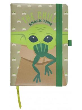 Cuaderno Baby Yoda A5 Snack Time El Mandaloriano
