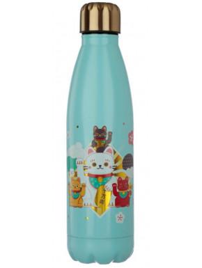 Botella Metálica Maneki Neko