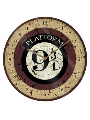 Reloj de Pared Harry Potter Andén 9 y 3/4