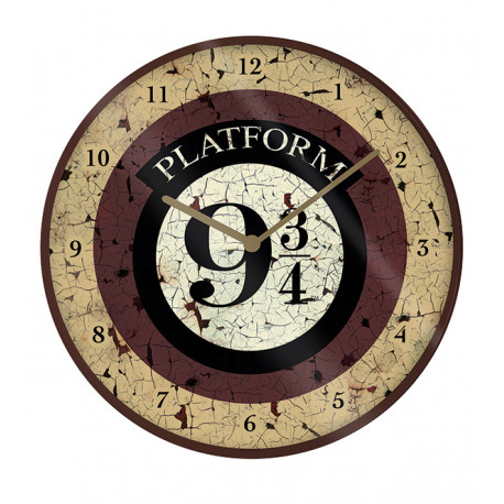 Reloj de Pared Harry Potter Plataforma 9 3/4