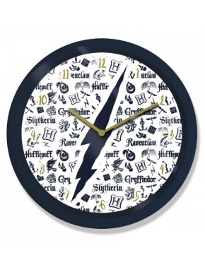 Reloj de Pared Harry Potter Icons