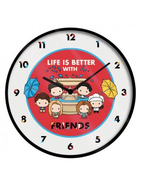 Reloj de Pared Friends Chibi