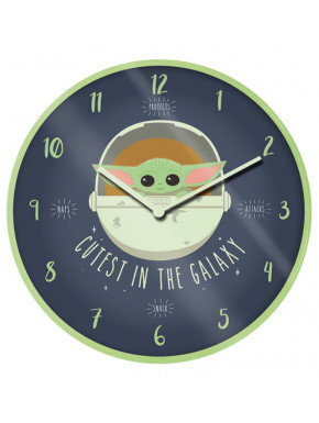 Reloj de Pared Mandalorian The Child Cute