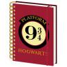 Cuaderno espiral Harry Potter Andén 9 y 3/4