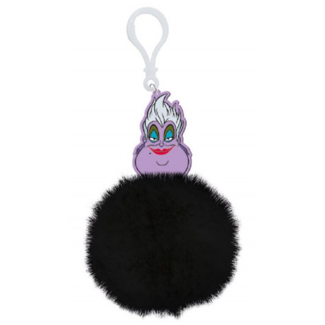 Llavero Pom Pom Villanas Disney (Ursula)
