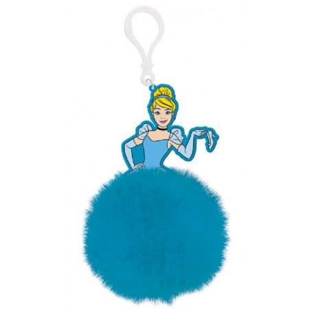 Llavero Pom Pom Princesas Disney (Cenicienta)