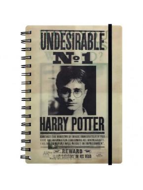 PYR - Libreta 3D Harry Potter Harry & Sirius