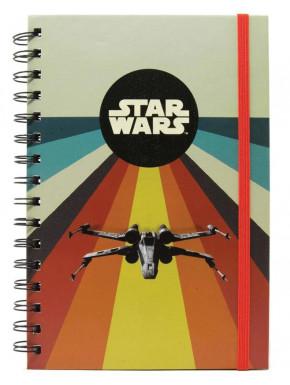 Cuaderno Star Wars X-Wing