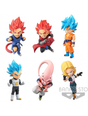Figura Sorpresa Dragon Ball Legends Banpresto WCF