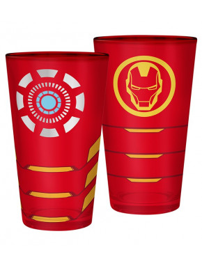 Vaso Iron Man Marvel 400 ml