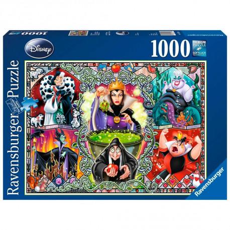 Puzzle Las Villanas Disney 1000pz