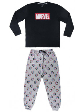 Pijama Marvel logo largo