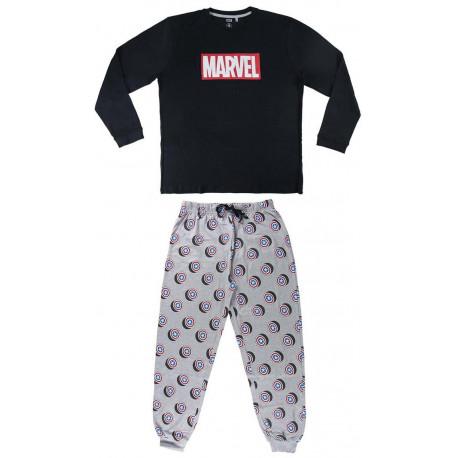 Pijama Marvel logo largo