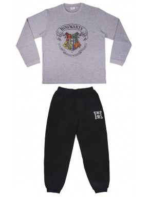 Pijama Hogwarts largo Harry Potter