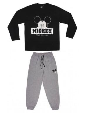 Pijama Mickey holograma largo Disney
