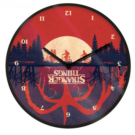 Reloj de Pared Upside Down Stranger Things