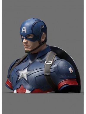 Hucha Capitán América 20 cm Marvel