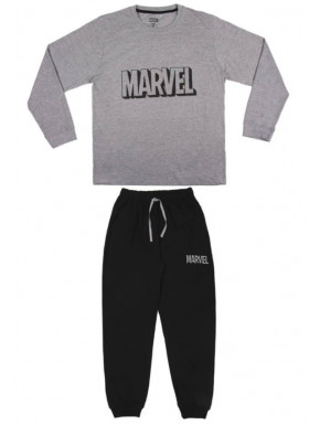 Pijama Largo Marvel Logo