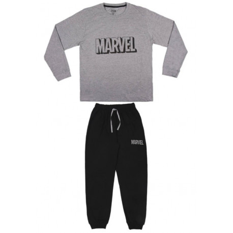 Pijama Largo Single Marvel