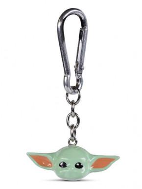 Llavero 3D Baby Yoda The Mandalorian