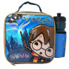 Set Portameriendas y botella Harry Potter Chibi