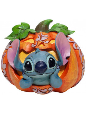 Stitch en calabaza 10cm Jim Shore Disney