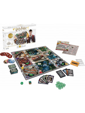 Cluedo Harry Potter Edición Blanca