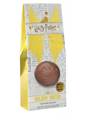 Snitch dorada de chocolate Harry Potter