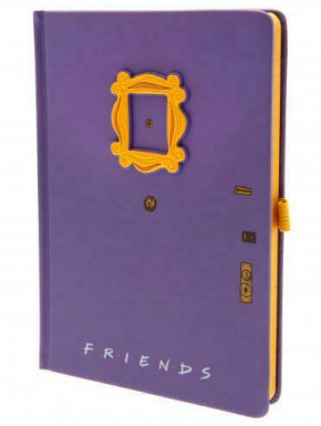 Libreta A5 premium Friends Puerta