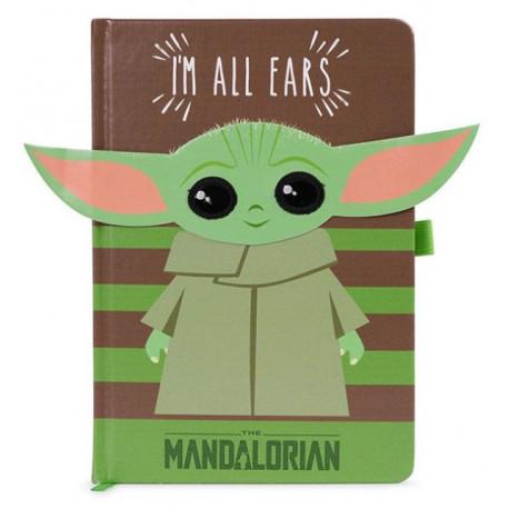 Libreta mium Mandalorian Im All Ears Verde