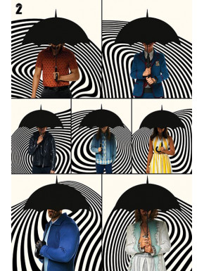 Poster Family 61 x 91 cm The Umbrella Academy