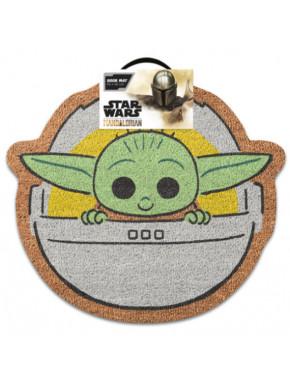 Felpudo Baby Yoda The Mandalorian