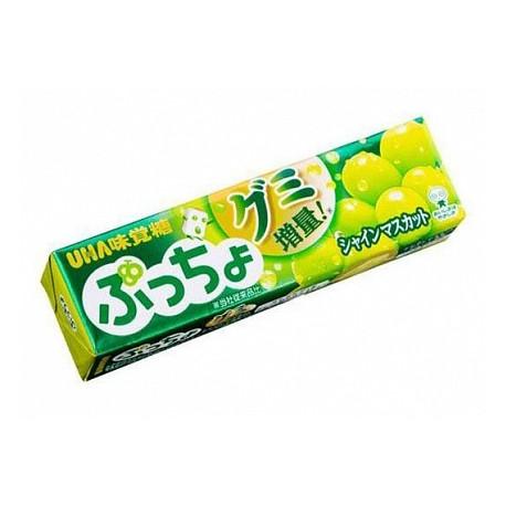 Caramelos blandos sabor moscatel Uha Puccho Shine