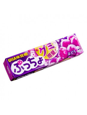 Caramelos blandos sabor uva Uha Puccho Shine