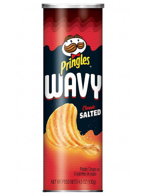 Pringles sabor Wavy Chips Salados