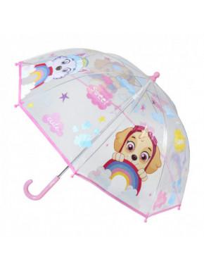 Paraguas infantil pink de la PAW PATROL