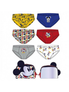 Pack calzoncillos Mickey Mouse Niño