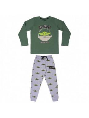 Pijama largo Baby Yoda The Mandalorian