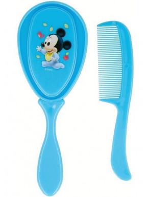 Set cepillo y peine de Mickey baby de Disney
