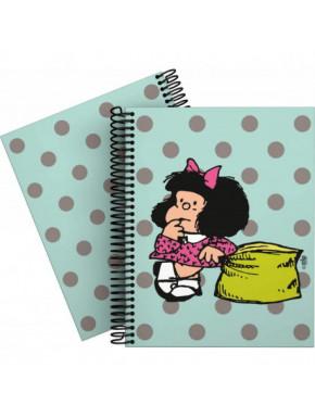 Cuaderno A5 Mafalda Dots